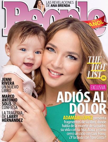 Adamari López en Revista People en Español
