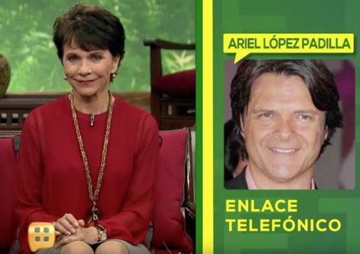 Ariel Lopez Padilla en Ventaneando