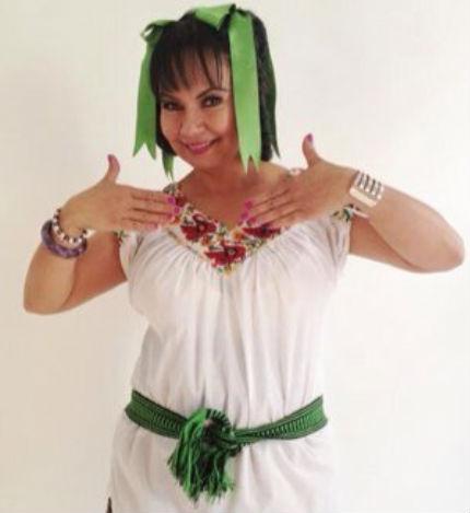 Comediante Olga Sana