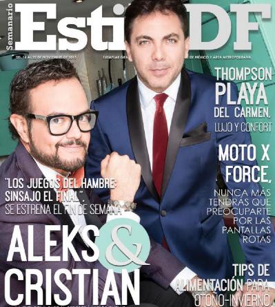 Cristian Castro y Aleks Syntek en Estilo DF
