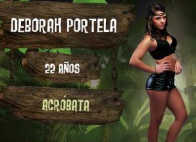 Deborah Portela desterrada de La Isla