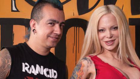 Erick Farjeat y Sabrina