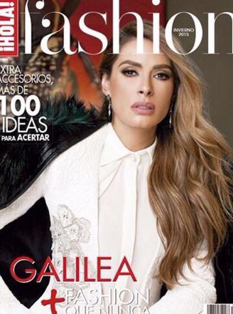 Galilea Montijo en revista Fashion Hola