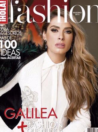 Galilea Montijo en revista Fashion Hola