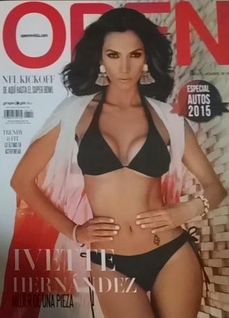 Ivette Hernández en Revista Open