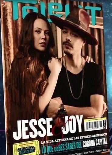 Jesse y Joy en Revista Telehit