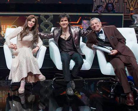 Lucía Méndez y Susana Dosamantes se presentaron en Parodiando