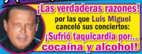 Luis Miguel en Revista Tv Notas