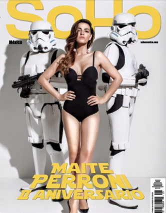 Maite Perroni en Revista SoHo