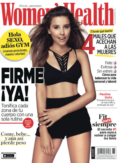 Paulina Goto en Revista Womens Health