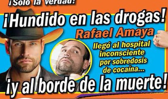 Rafael Amaya  en Tv Notas