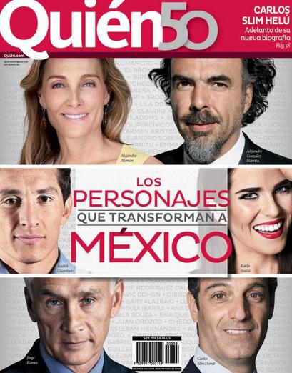 Revista Quién 50 personajes