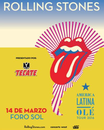 The Rolling Stones en Foro Sol