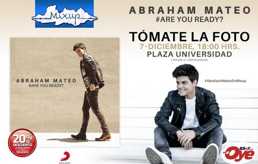 Firmas de autógrafos en Diciembre: Abraham Mateo, Vázquez Sounds y más.