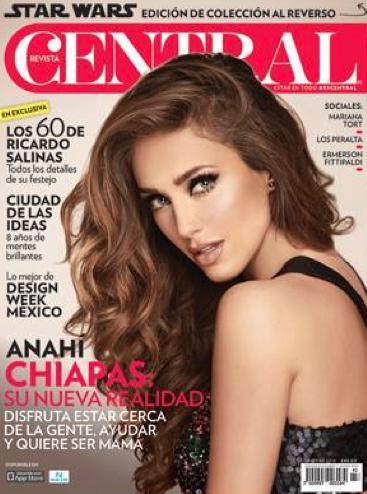 Anahi en Revista Central