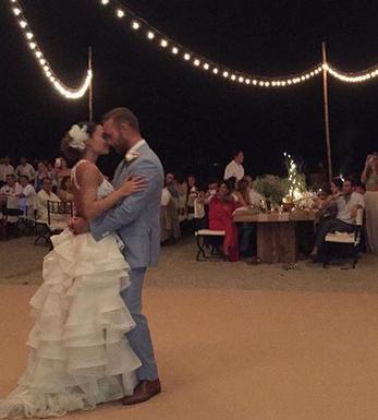 Se casaron Marimar Vega y Luis Ernesto Franco