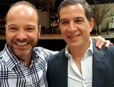 Luis García y Javier Alarcón