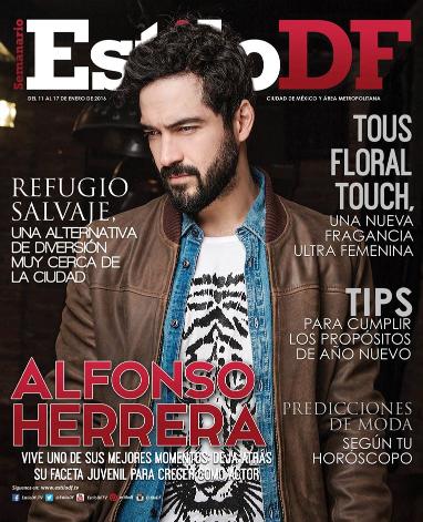 Alfonso Herrera en Revista Estilo DF
