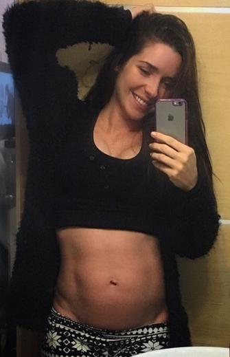 Ariadne Díaz embarazada