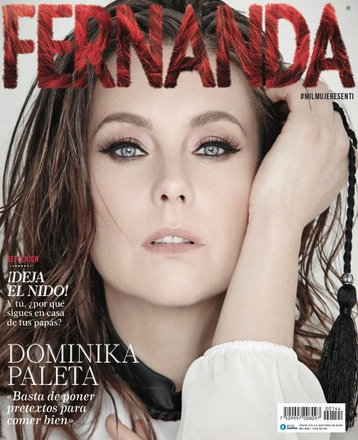 Dominika Paleta en Revista Fernanda