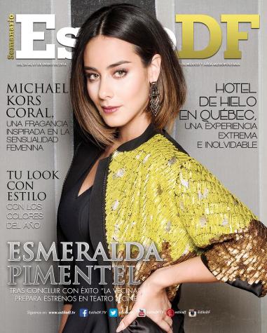 Esmeralda Pimentel en Revista Estilo DF