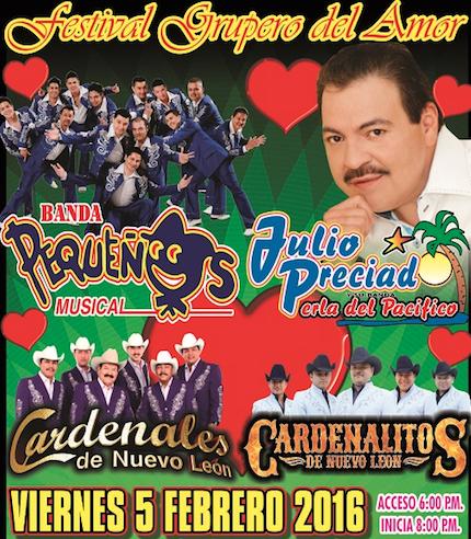 Festival grupero en Arena Ciudad de México