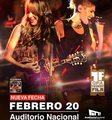 Ha-Ash en Auditorio Nacional 20 de febrero