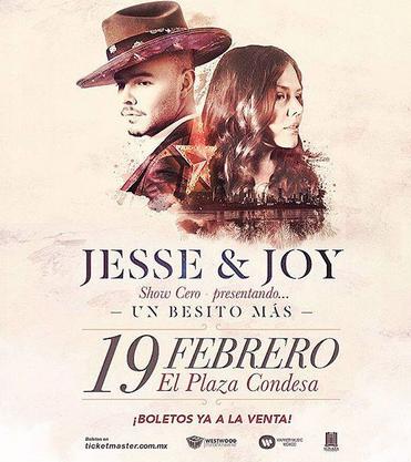 Jesse & Joy en Plaza Condesa 19 de febrero