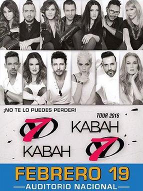 Kabah y OV7 en Auditorio Nacional