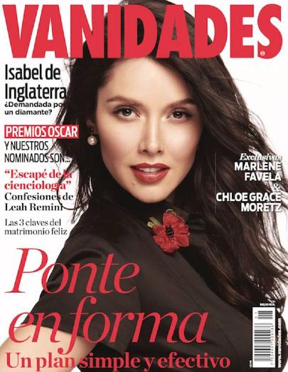 Marlene Favela en Revista Vanidades