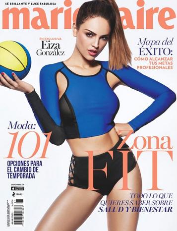 Eiza González en Revista Marie Claire