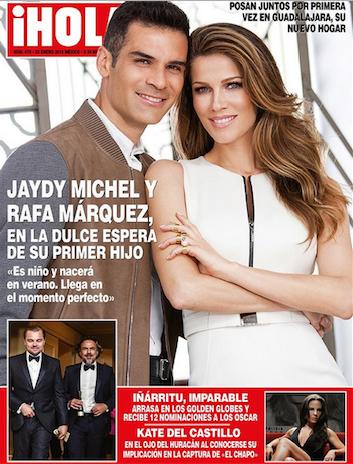 Rafa Marquez y Jaydy Michel esperan niño