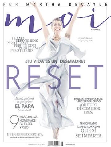 Alejandra Guzmán en Revista Moi