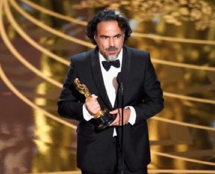 Famosos felicitan a Alejandro González Iñarritu por su premio Oscar