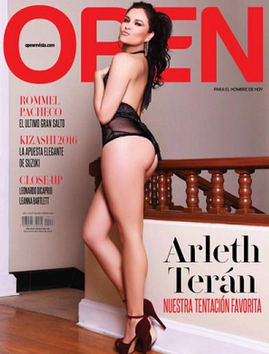 Arleth Teran en Open