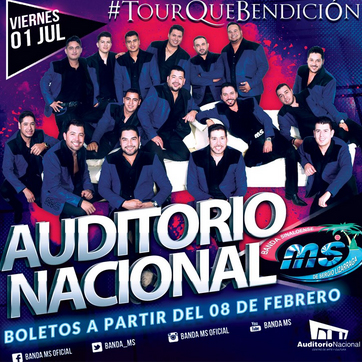 Banda MS Auditorio Nacional
