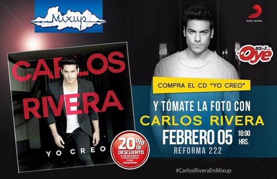 Ven y tómate la foto con Caros Rivera 5 de febrero en Ciudad de México