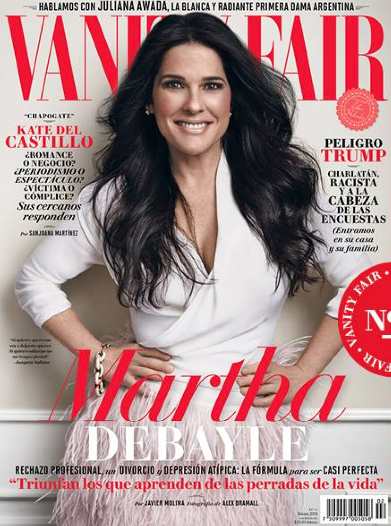 Martha Debayle en Revista Vanity Fair