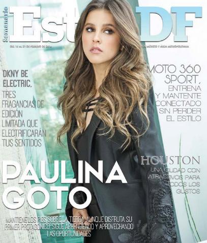 Paulina Goto Estilo DF