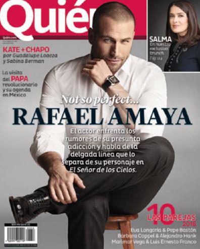 Rafael Amaya rompe el silencio en Revista Quién
