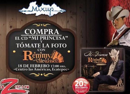 Remmy Valenzuela en Ecatepec