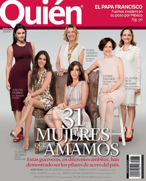 Las 31 mujeres que amamos en Revista Quién