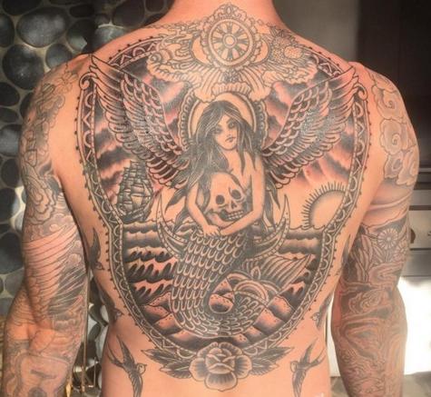 Tatuajes de Adam Levine