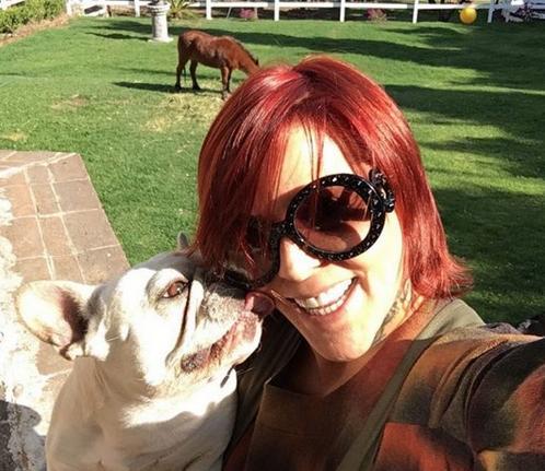 Alejandra Guzmán y mascotas
