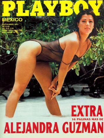 Alejandra Guzmán en Playboy