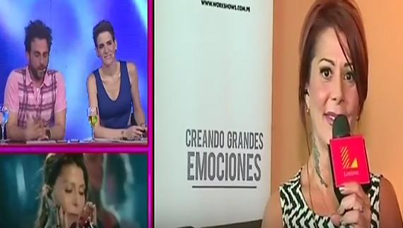 Alejandra Guzmán en Amor amor amor
