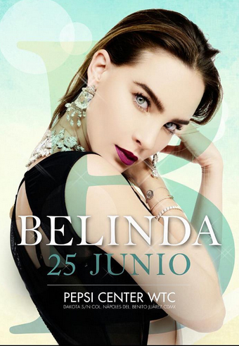 Belinda en Pepsi Center