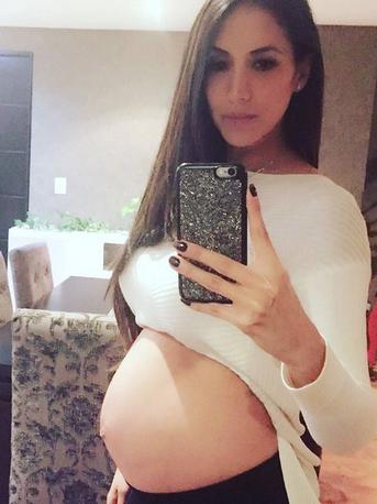 Cynthia Urias embarazada