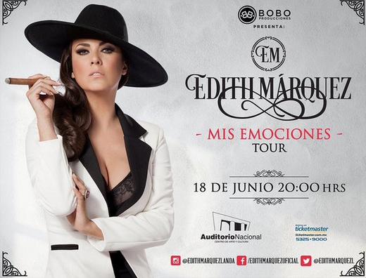 Edith Márquez en Auditorio Nacional 18 de junio