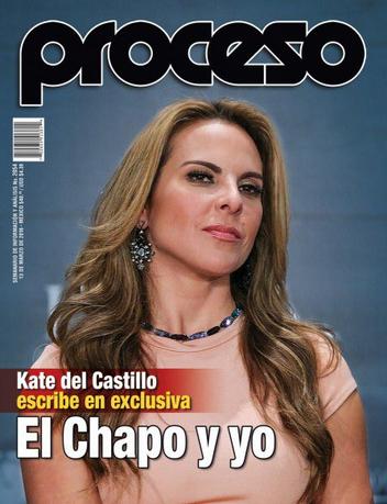 Kate del Castillo en Revista Proceso